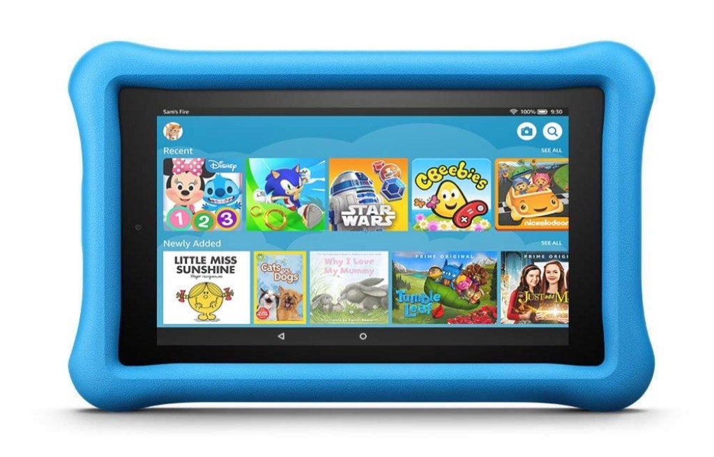 eBookReader Kindle Fire 7 - Kids Edition blå