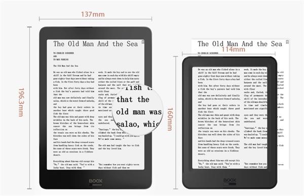 eBookReader Onyx BOOX Nova 3 COLOR større skærm