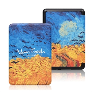 eBookReader Paperwhite 4 cover Van Gogh Wheatfiled with crows