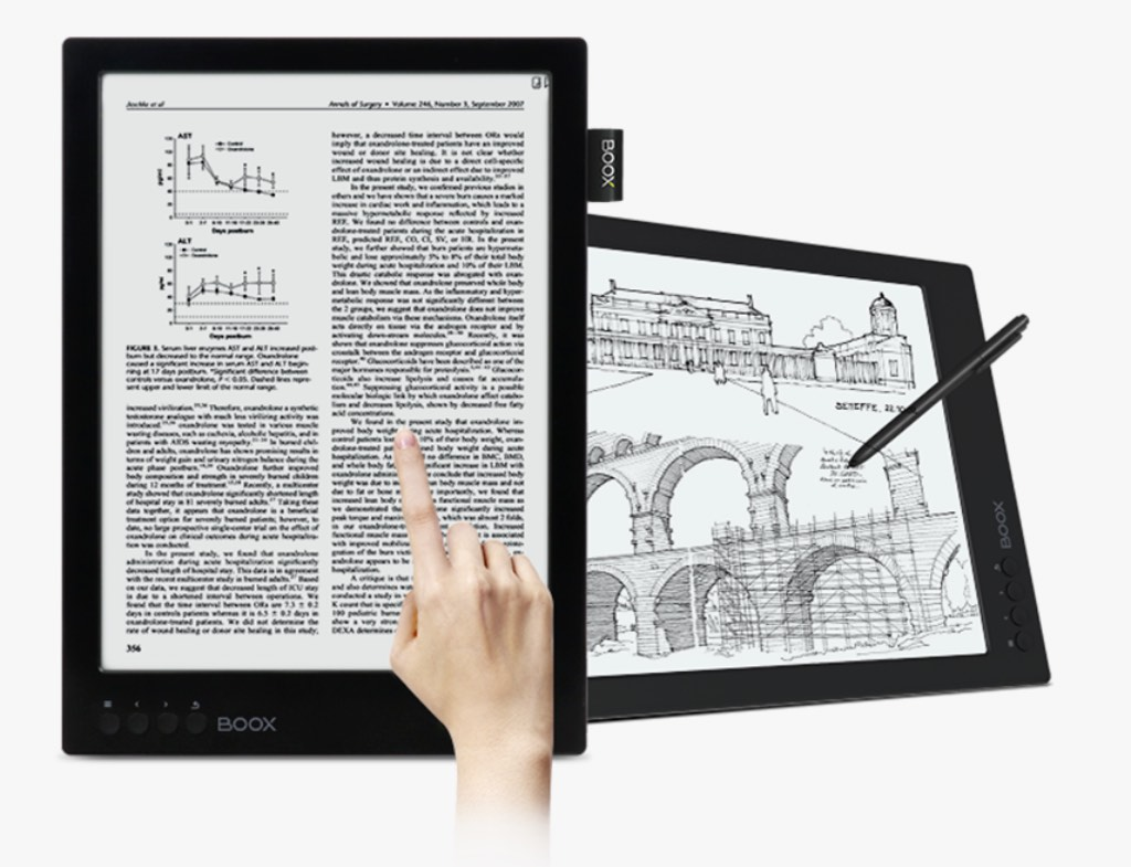KindleShop ONYX BOOX MAX 2 Dual Touch og pegepen