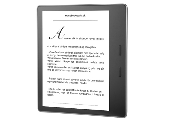 eBookReader Amazon Kindle Oasis Specifikationer