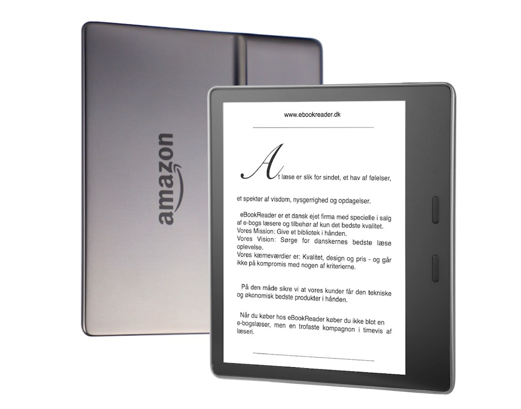 eBookReader Amazon Kindle Oasis Graphite Grafit