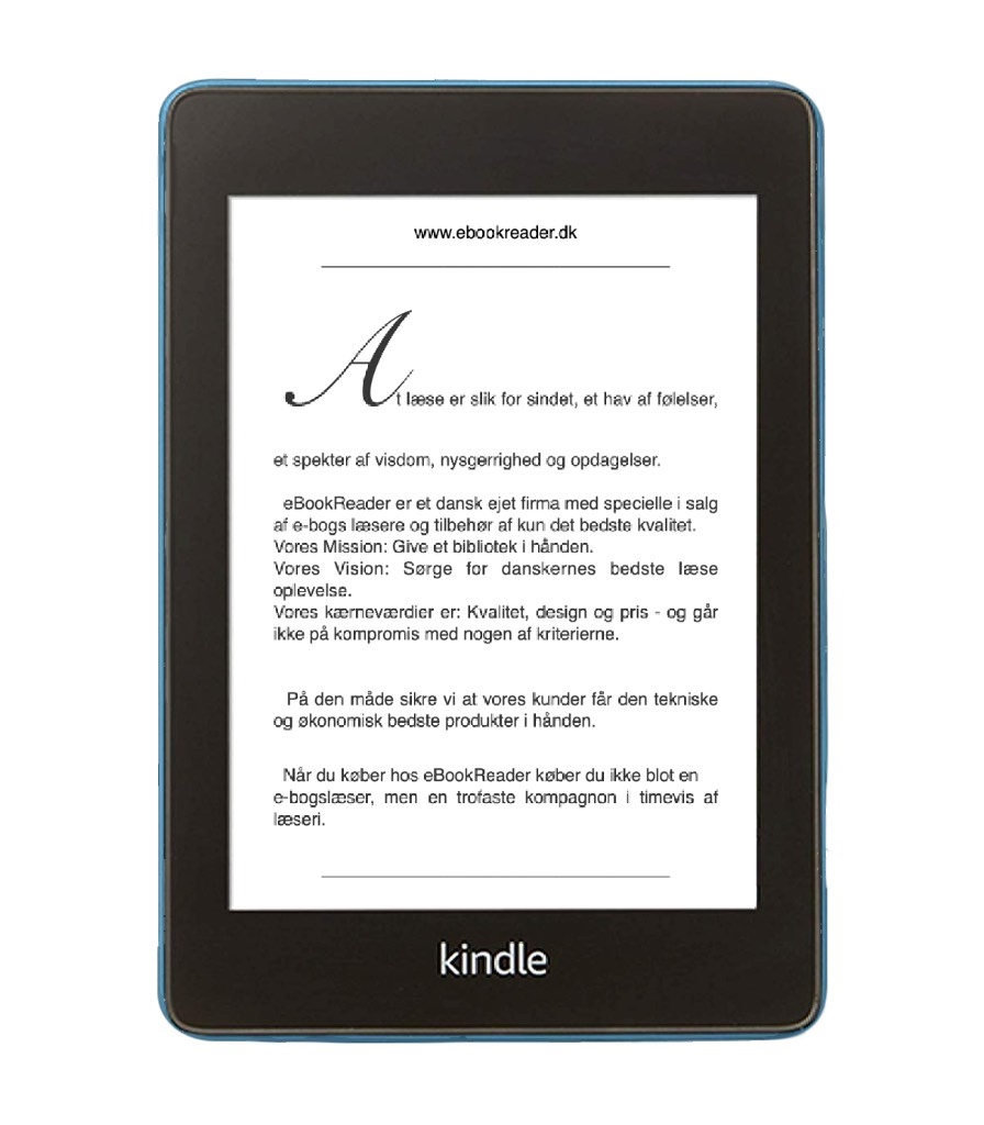 eBookReader Amazon Kindle Paperwhite 4 Azure blå