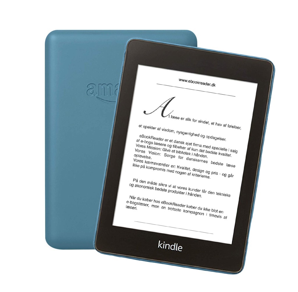 eBookReader Amazon Kindle Paperwhite 4 blå
