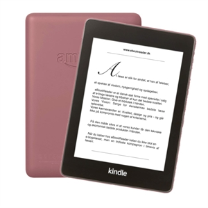 "Kindle Paperwhite 4 (2018) - 32GB - 6"" - Blomme Rød"