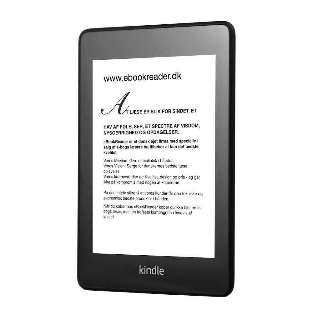 eBookReader Amazon Kindle Paperwhite 4 forfra siden