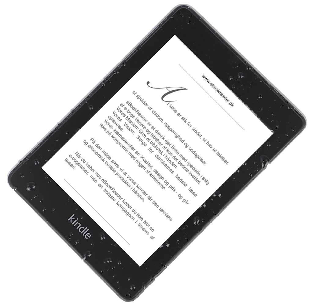 eBookReader Amazon Kindle Paperwhite 4 vandtæt
