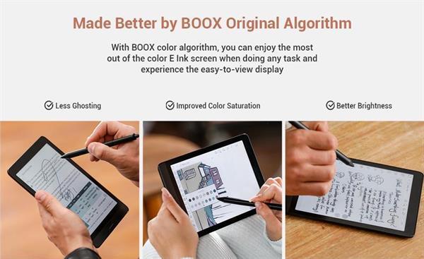 eBookReader Onyx BOOX Nova 3 algoritmer