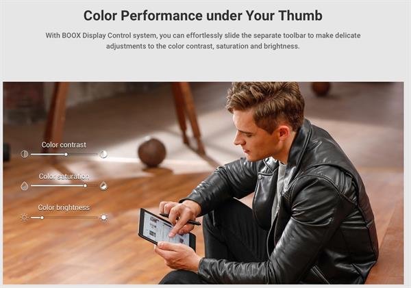 eBookReader Onyx BOOX Nova 3 COLOR farveskærm