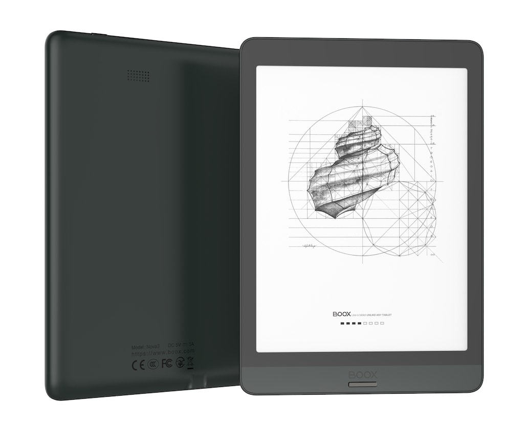 eBookReader Onyx BOOX Nova 3 skæv side
