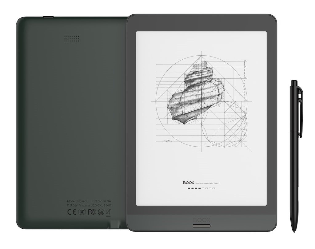 eBookReader Onyx BOOX Nova 3 med pen