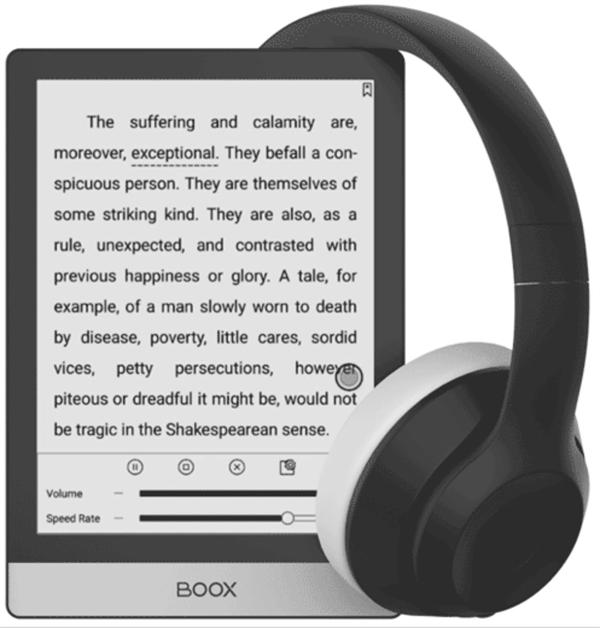 eBookReader Onyx BOOX Poke 3 - musik
