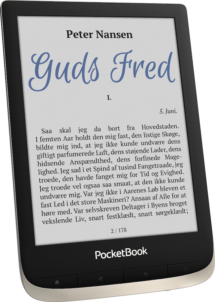 eBookReader PocketBook Color forfra side