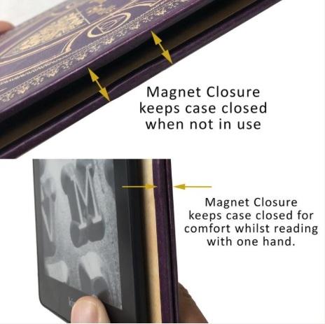 Magnetisk luk og åben
